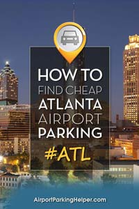 ATL Hartsfield Jackson airport parking