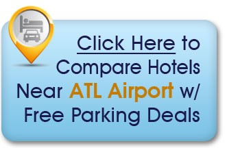 hotels near atlanta airport with park and ride