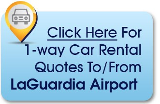 LaGuardia car rentals instead of airport parking