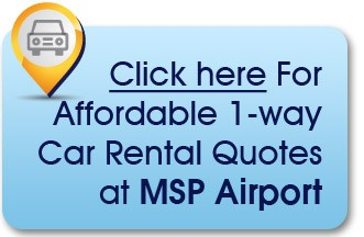 MSP car rentals instead of airport parking