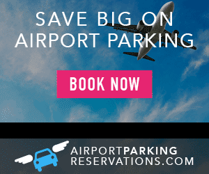 airport parking reservations coupon ad