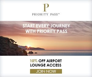 priority pass banner ad