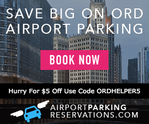 coupon ad for ord airport parking