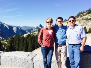 Andie and her family visited California's Yosemite National Park in July 2014 -- amazing! See Half Dome in the background?