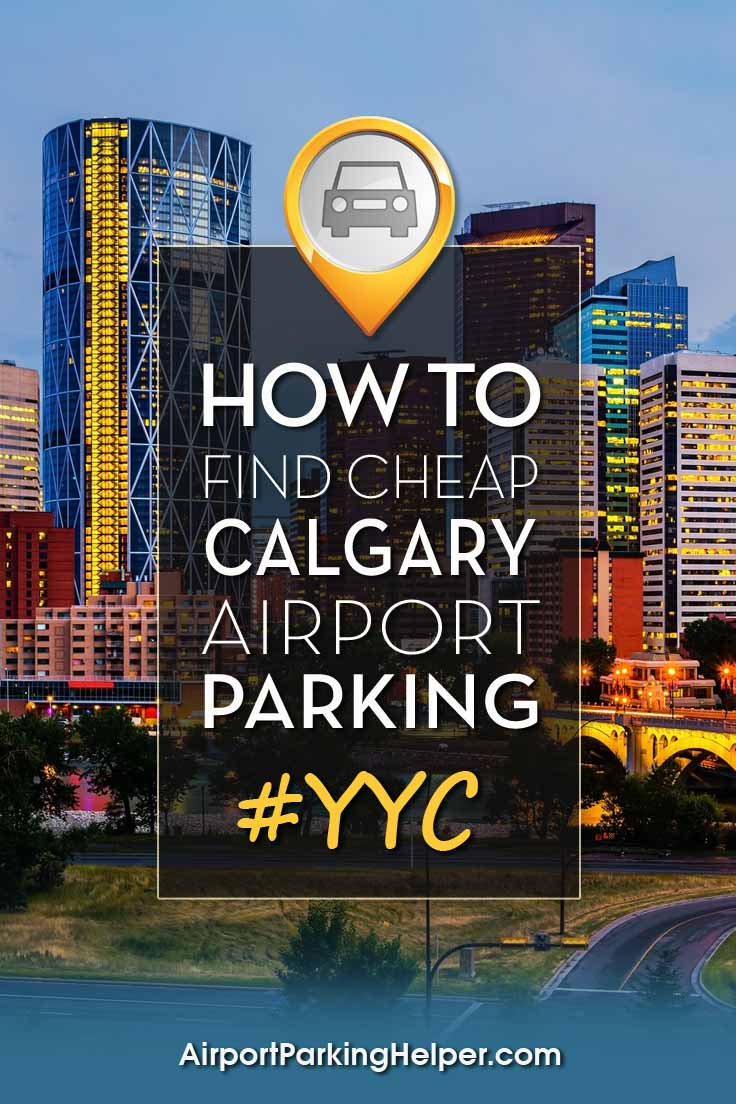 Calgary YYC airport parking image