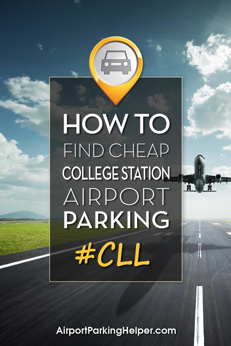 College Station CLL airport parking image