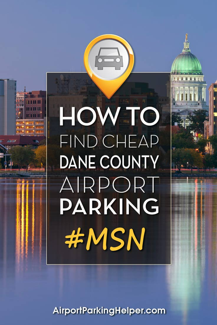 Dane County MSN airport parking image