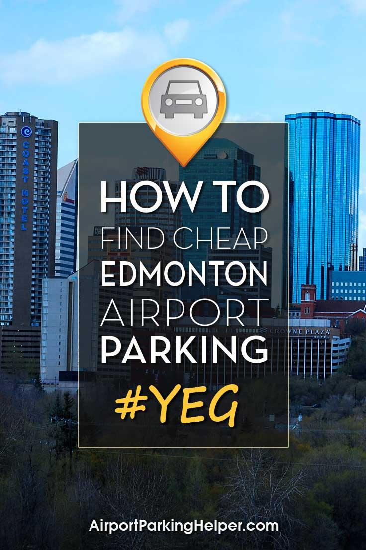 Edmonton YEG airport parking image