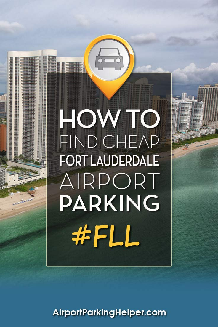 FLL Fort Lauderdale airport parking image