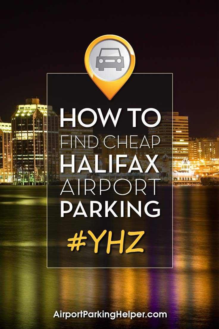 Halifax Stanfield YHZ airport parking image