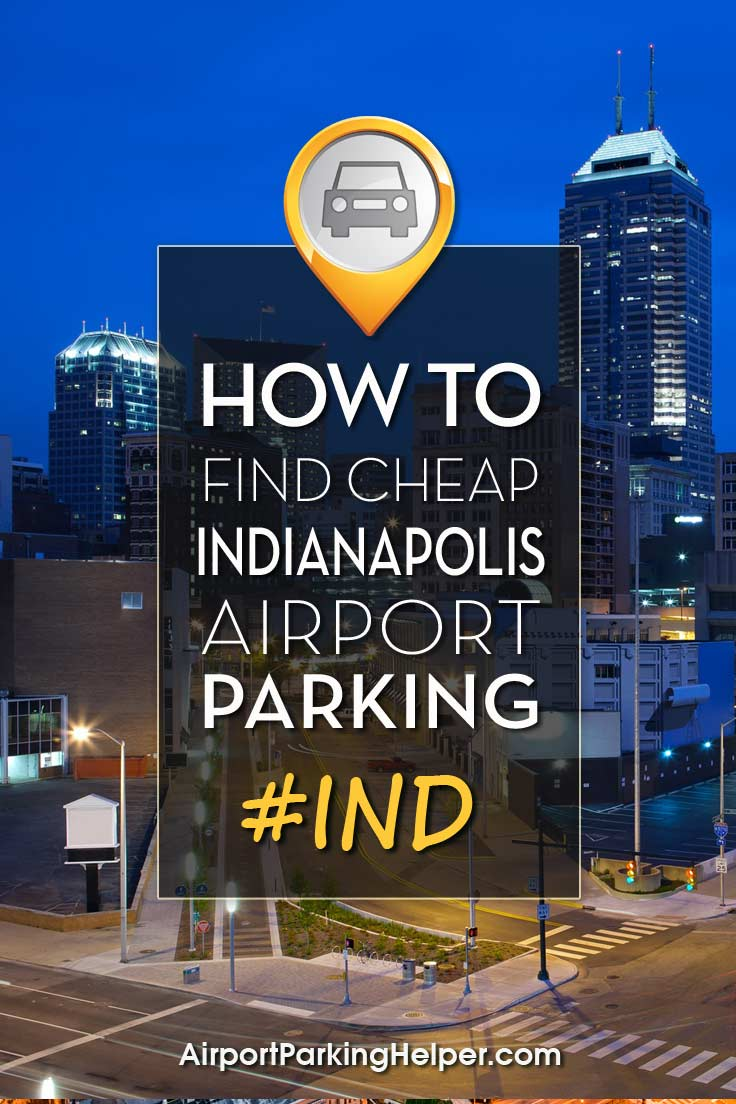 IND Indianapolis airport parking image