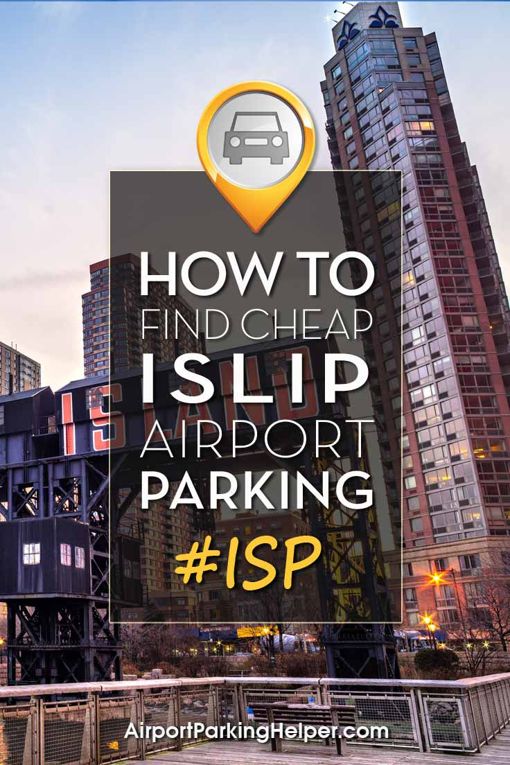 Long Island ISP airport parking image