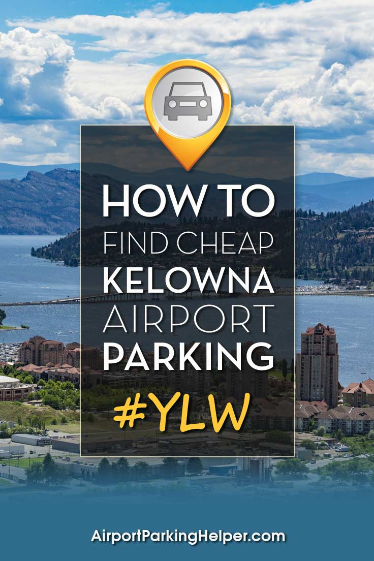 Kelowna YLW airport parking image
