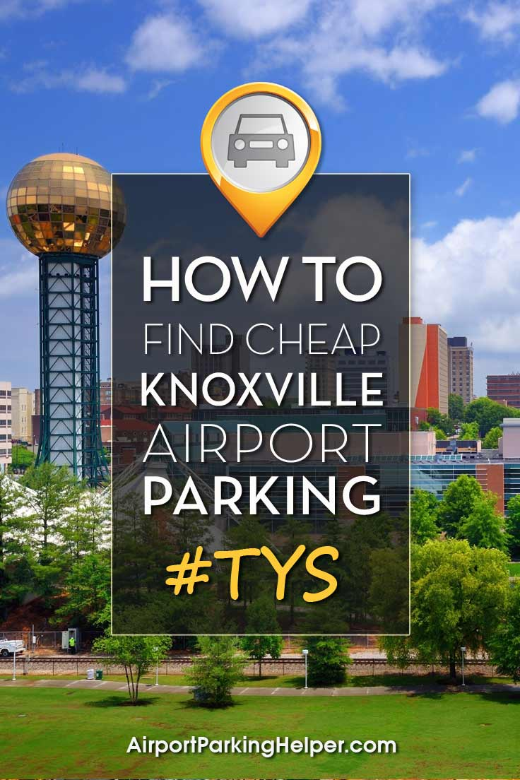 TYS Knoxville airport parking image