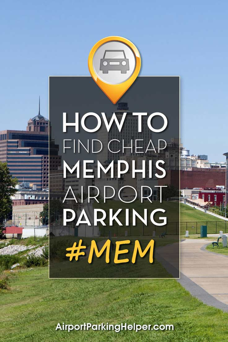 Memphis MEM airport parking image