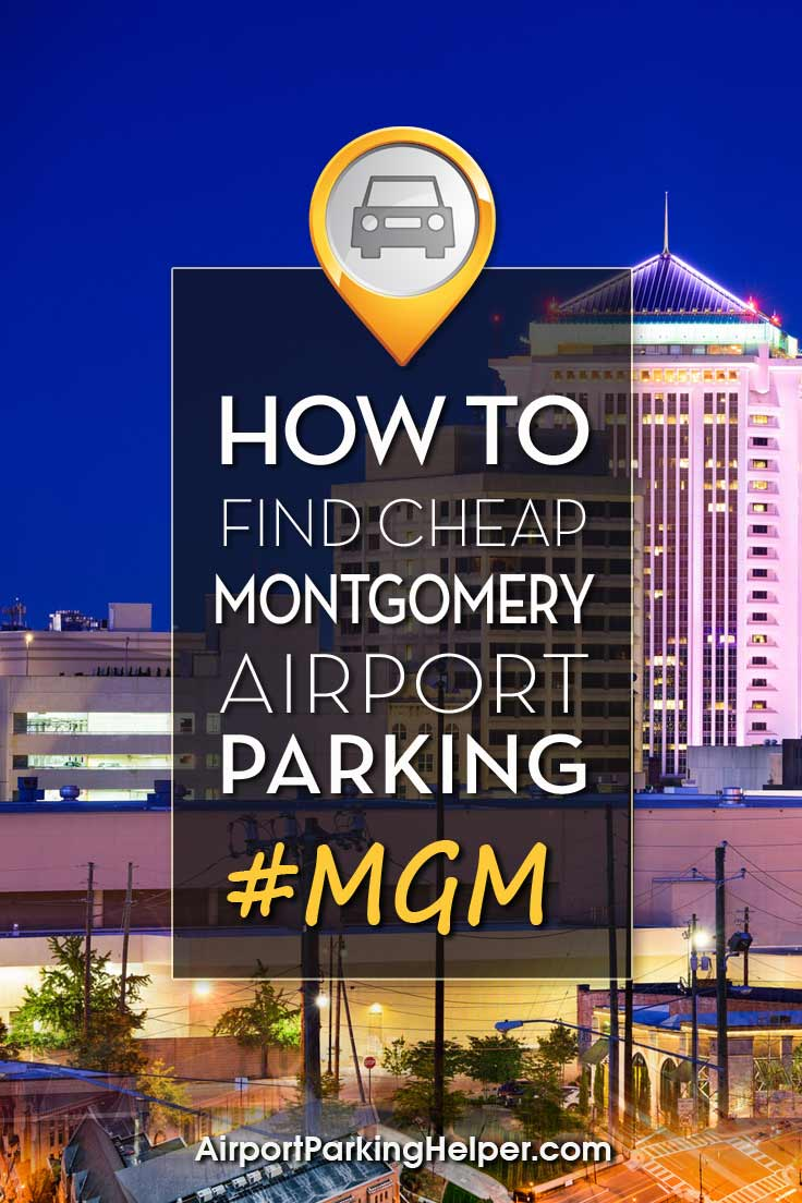 Montgomery MGM airport parking image