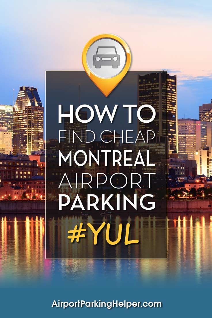 YUL Montreal airport parking image
