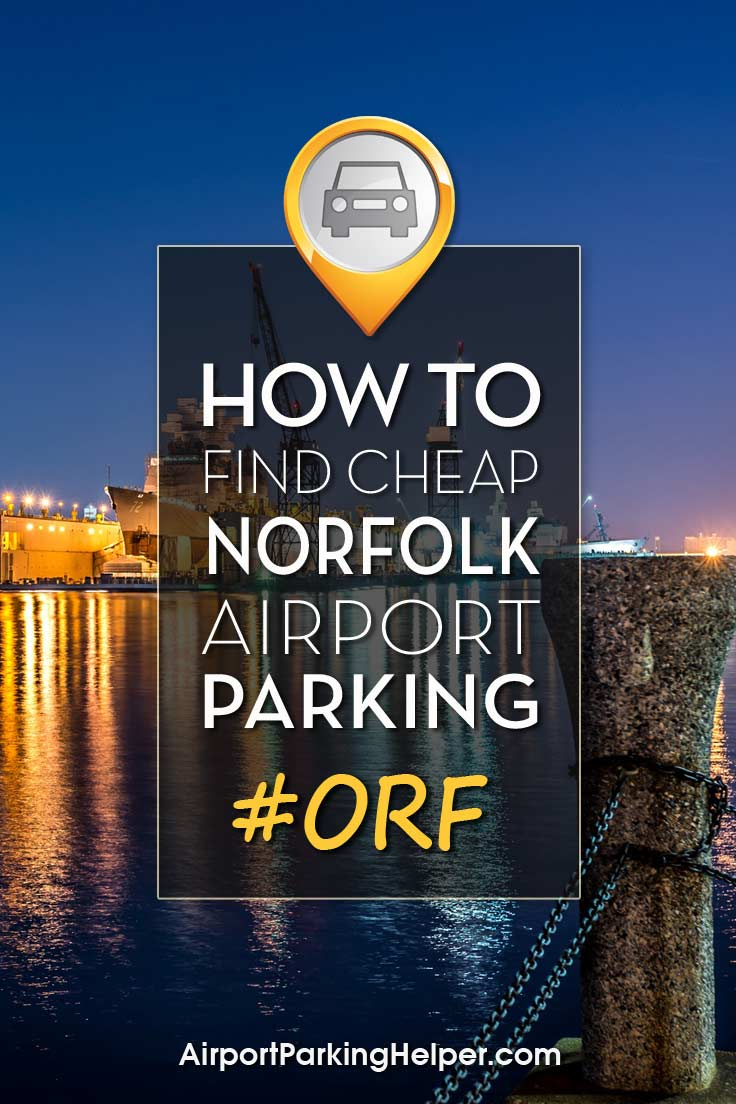 Norfolk ORF airport parking image