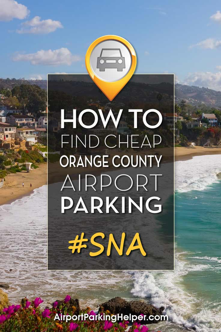 SNA John Wayne airport parking image