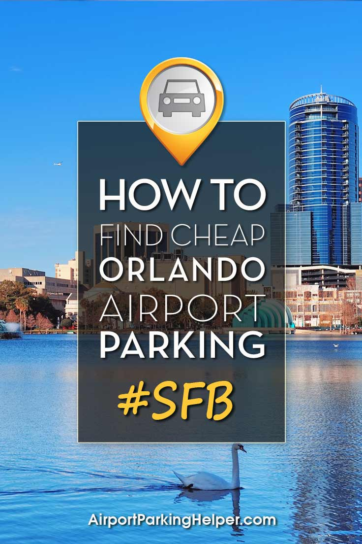 Orlando Sanford SFB airport parking image