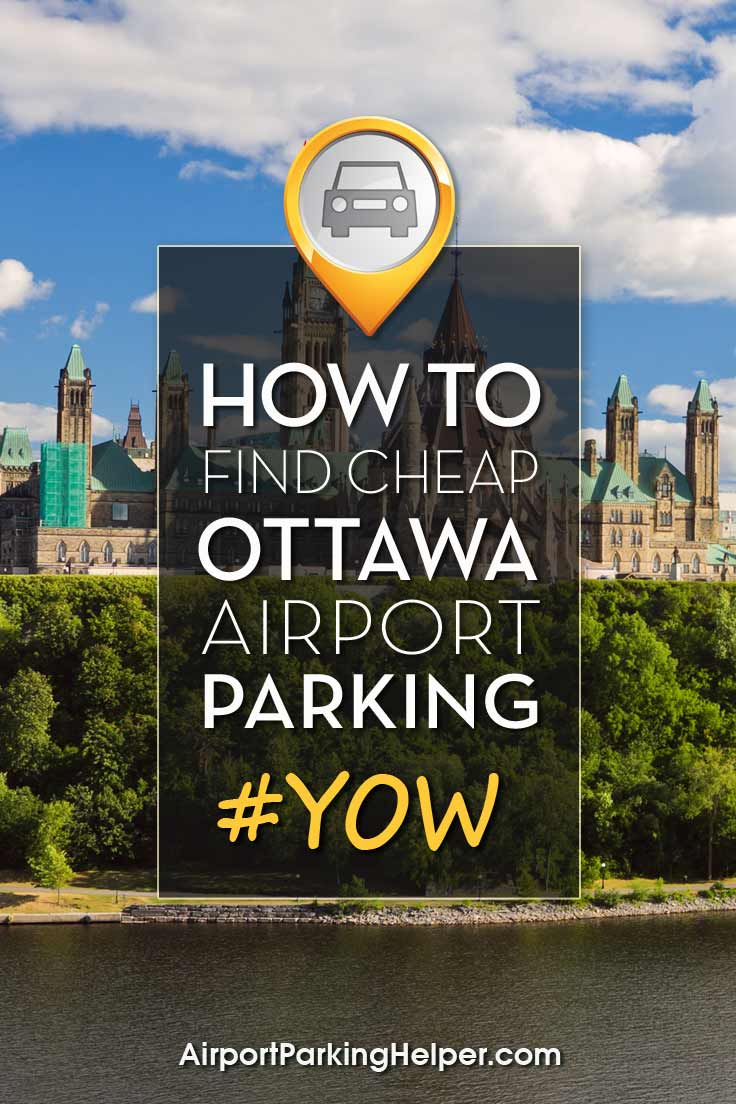 Ottawa YOW airport parking image
