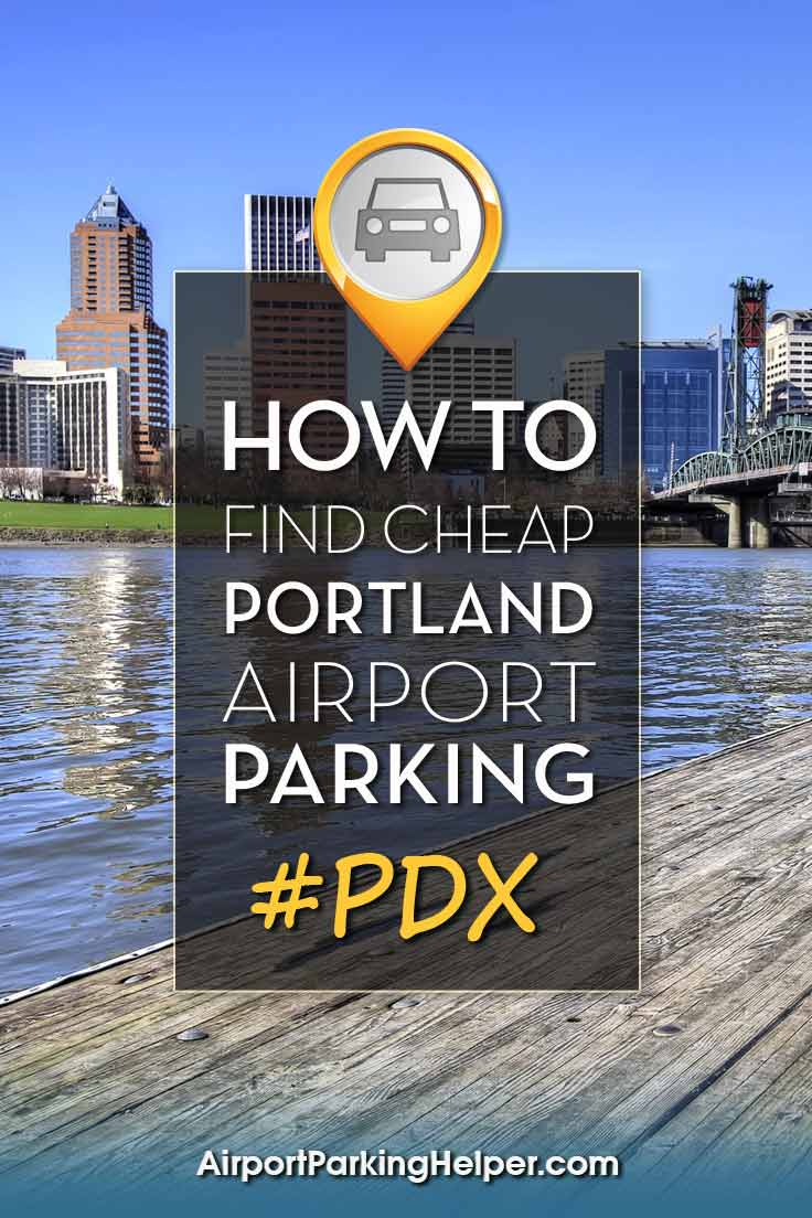 PDX Portland airport parking image