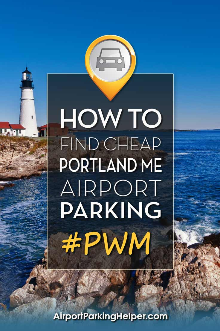 PWM Portland Maine airport parking image