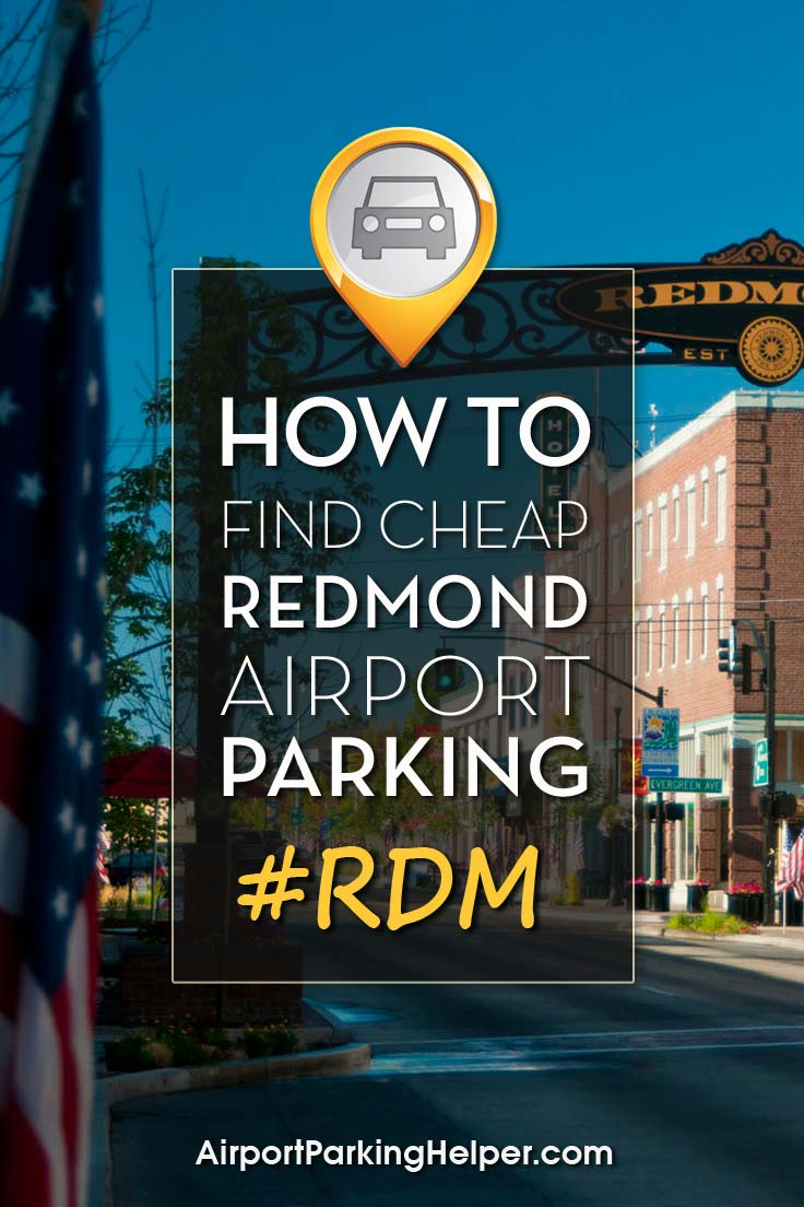 Redmond RDM airport parking image