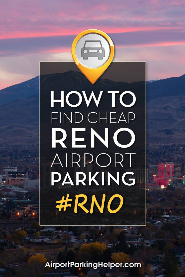 RNO Reno airport parking image