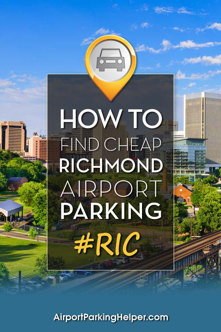 Richmond RIC airport parking image