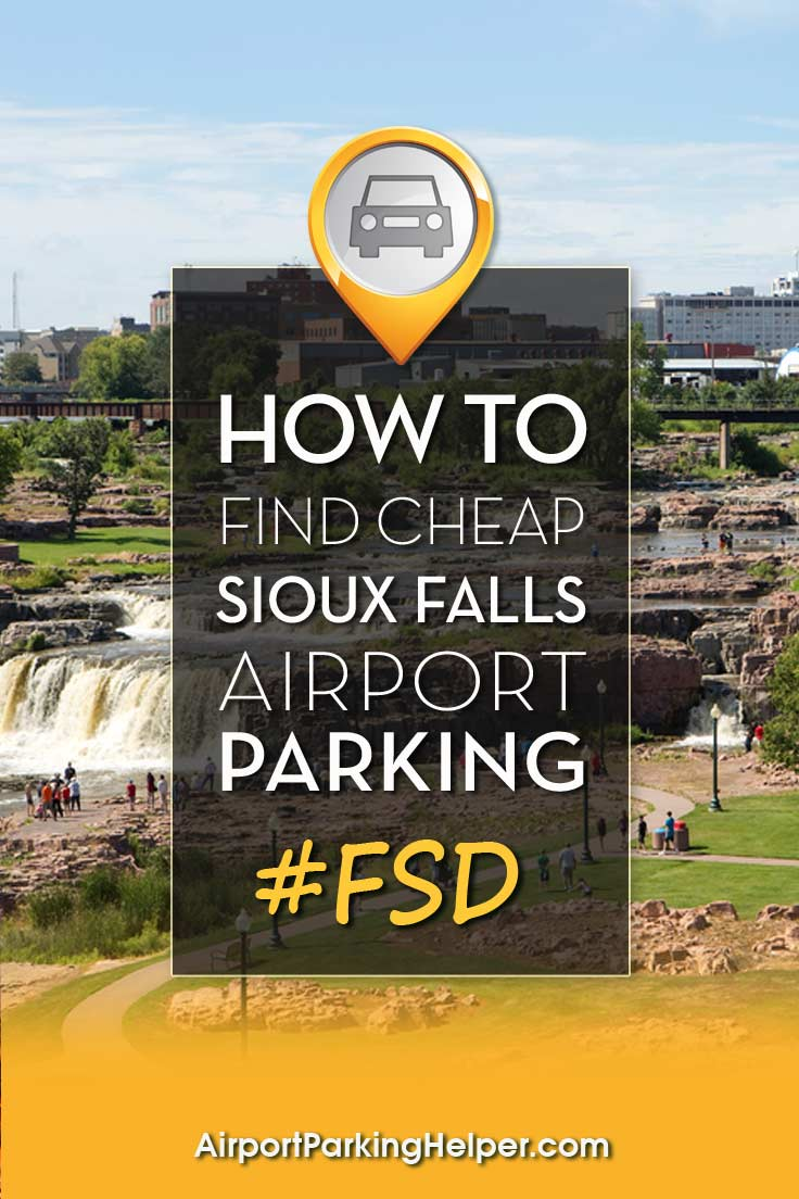 Sioux Falls FSD airport parking image