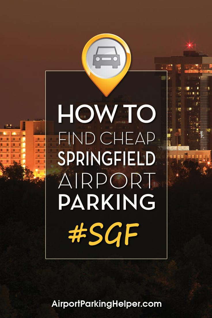 SGF Springfield airport parking image
