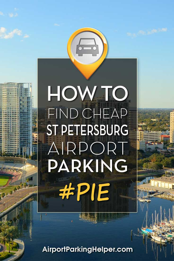 St. Petersburg PIE airport parking image