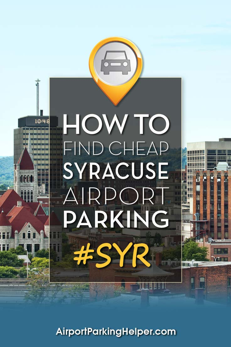 SYR Syracuse airport parking image