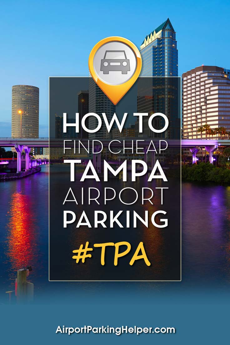 TPA Tampa airport parking image