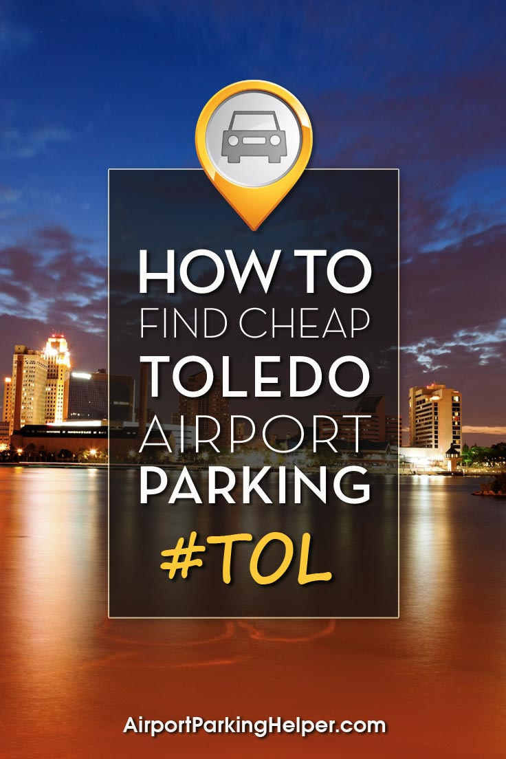 Toledo TOL airport parking image