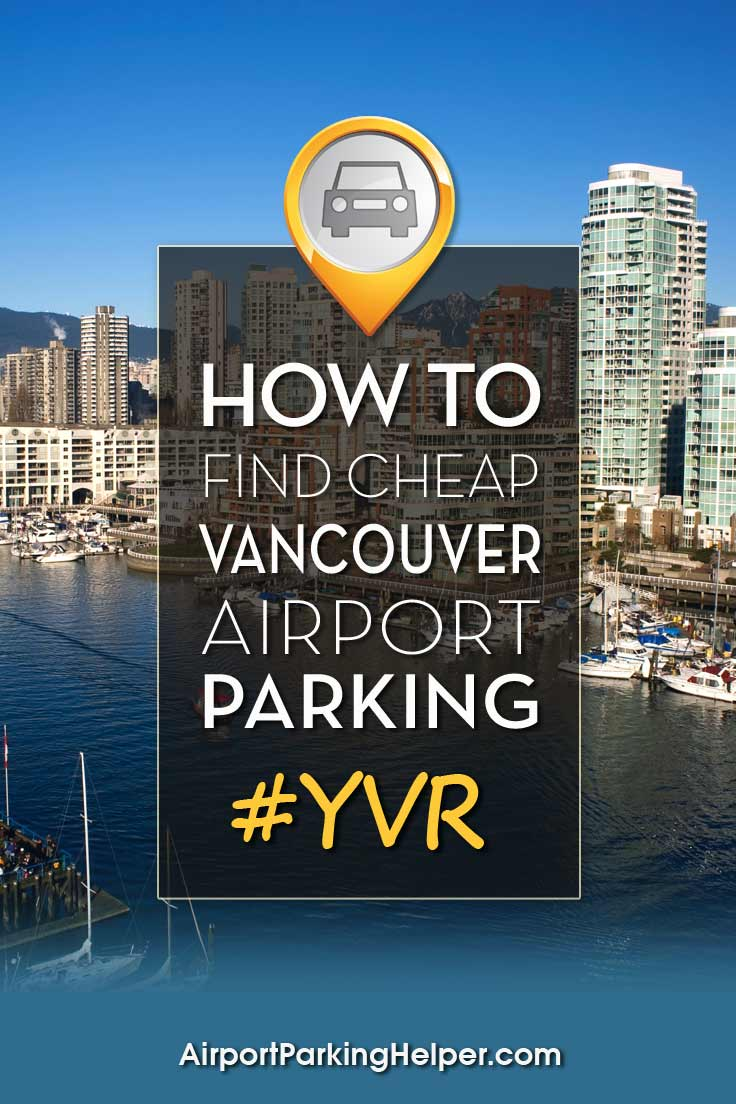 Vancouver YVR airport parking image