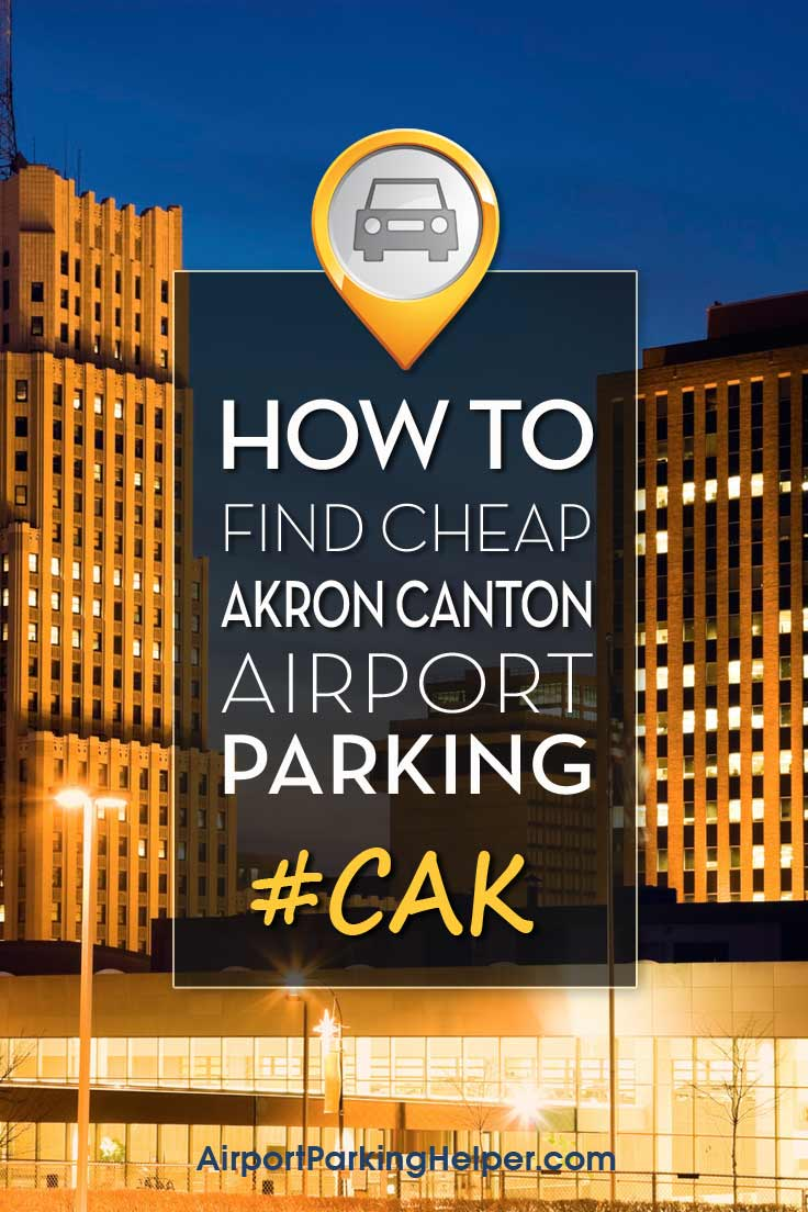 Akron-Canton CAK airport parking image