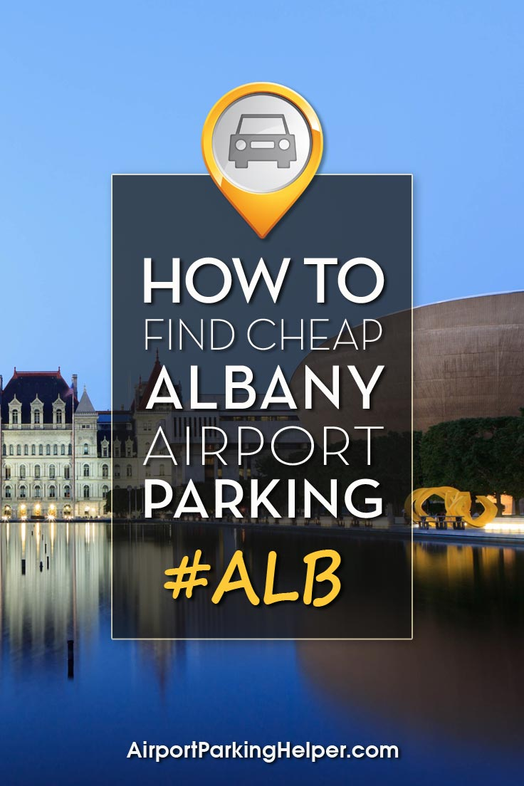 Albany ALB airport parking image