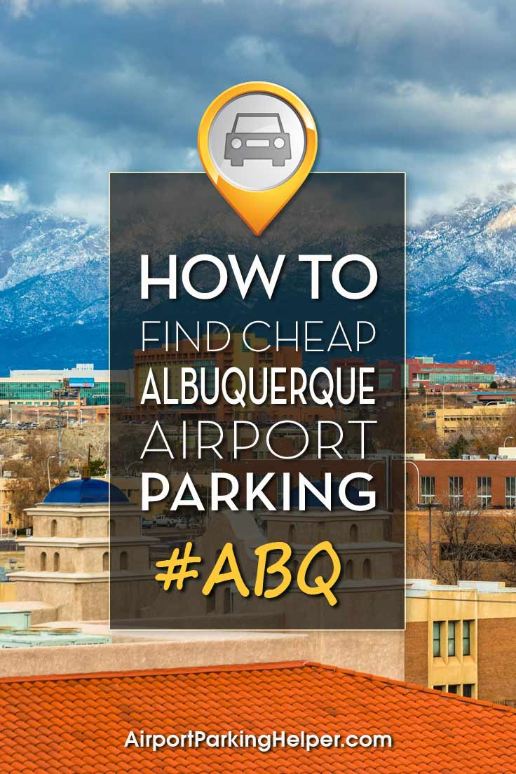 ABQ Albuquerque airport parking image