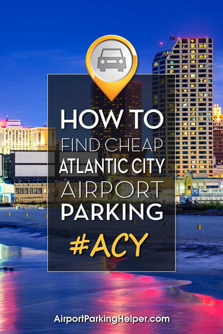 Atlantic City ACY airport parking image