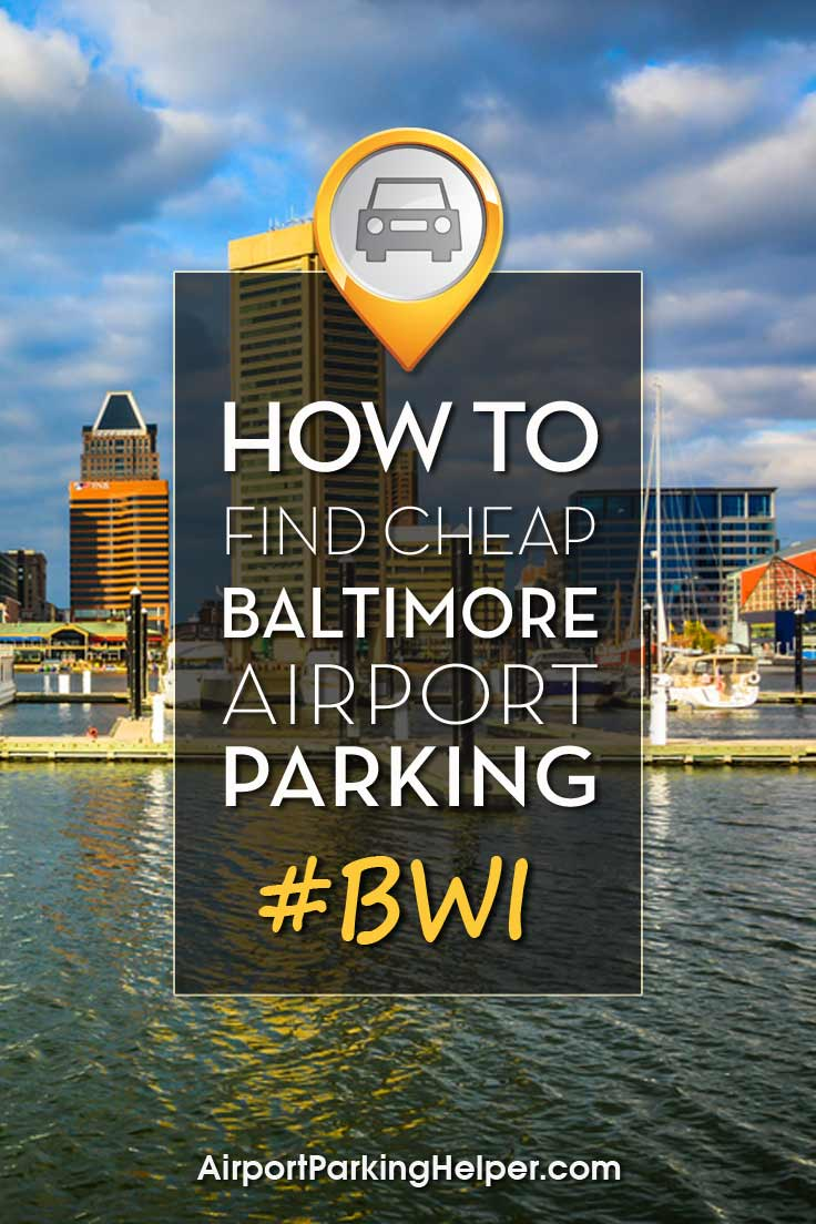 Baltimore BWI parking image