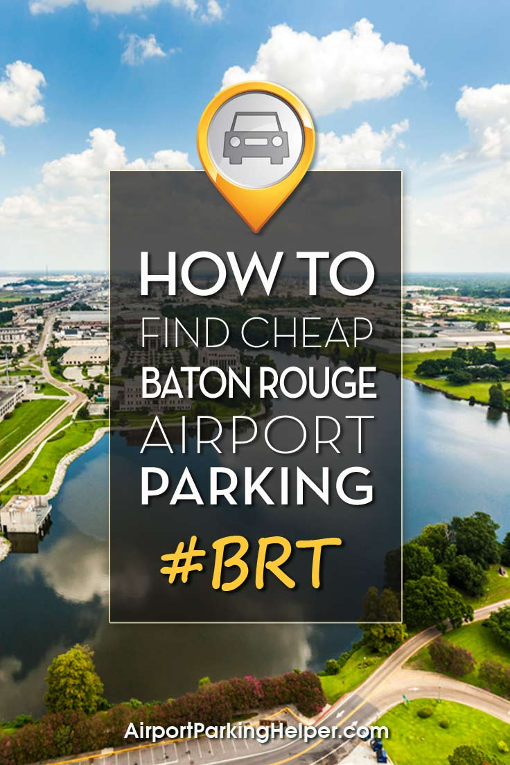 Baton Rouge BTR airport parking image