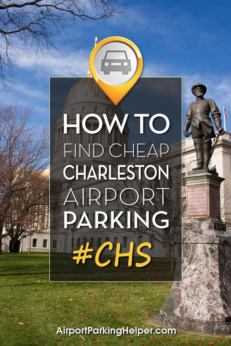 Charleston CHS airport parking image