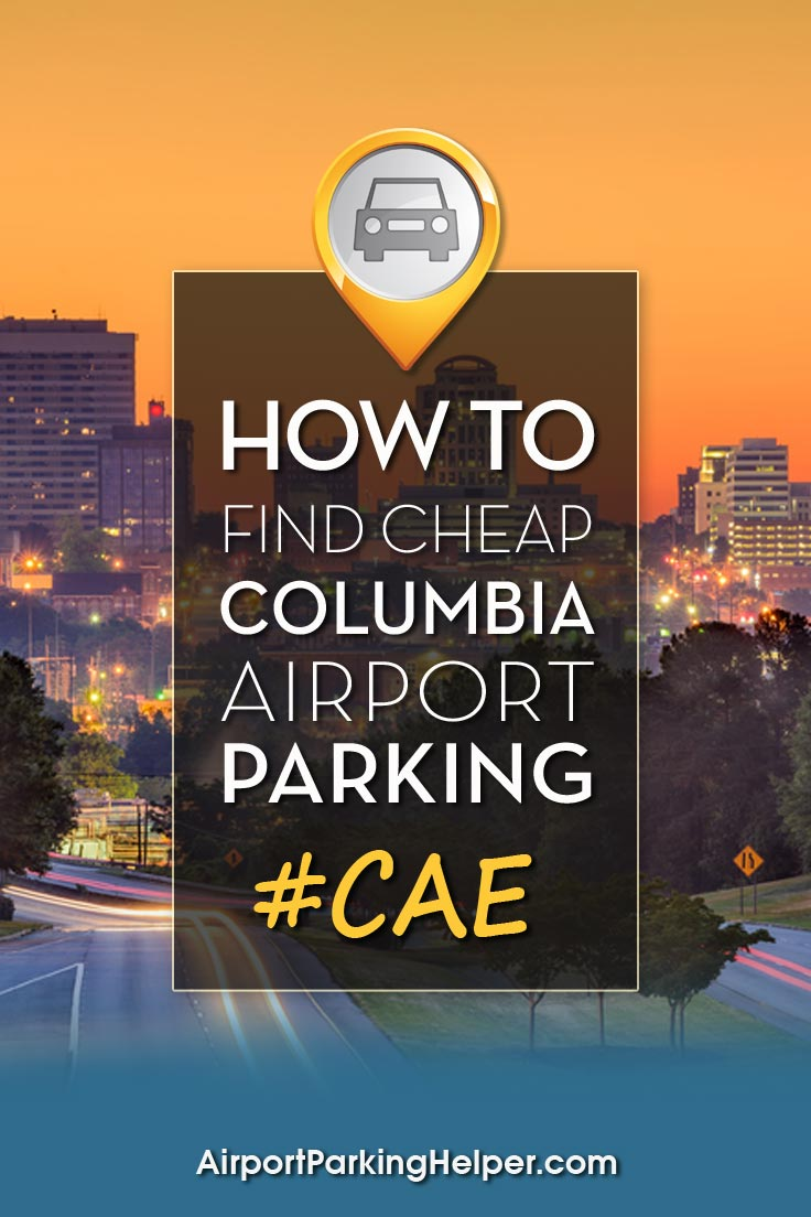 Columbia CAE airport parking image