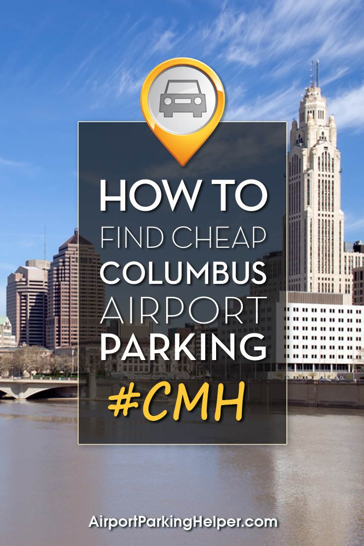 Columbus CMH airport parking image