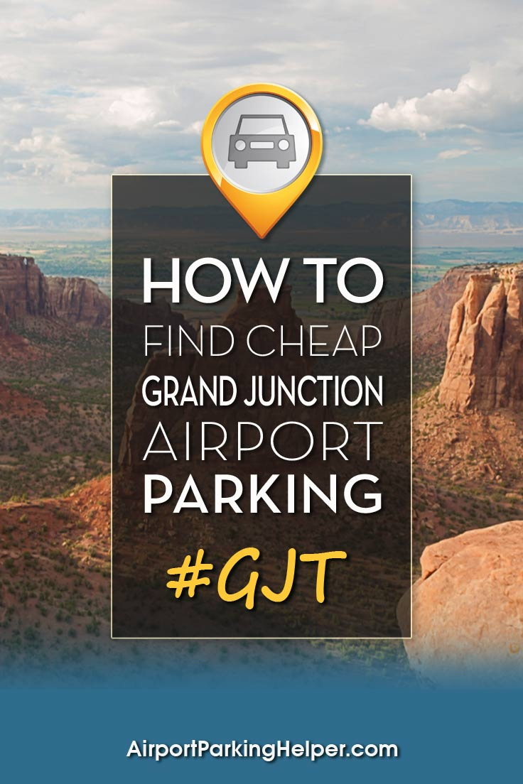 Grand Junction GJT airport parking image