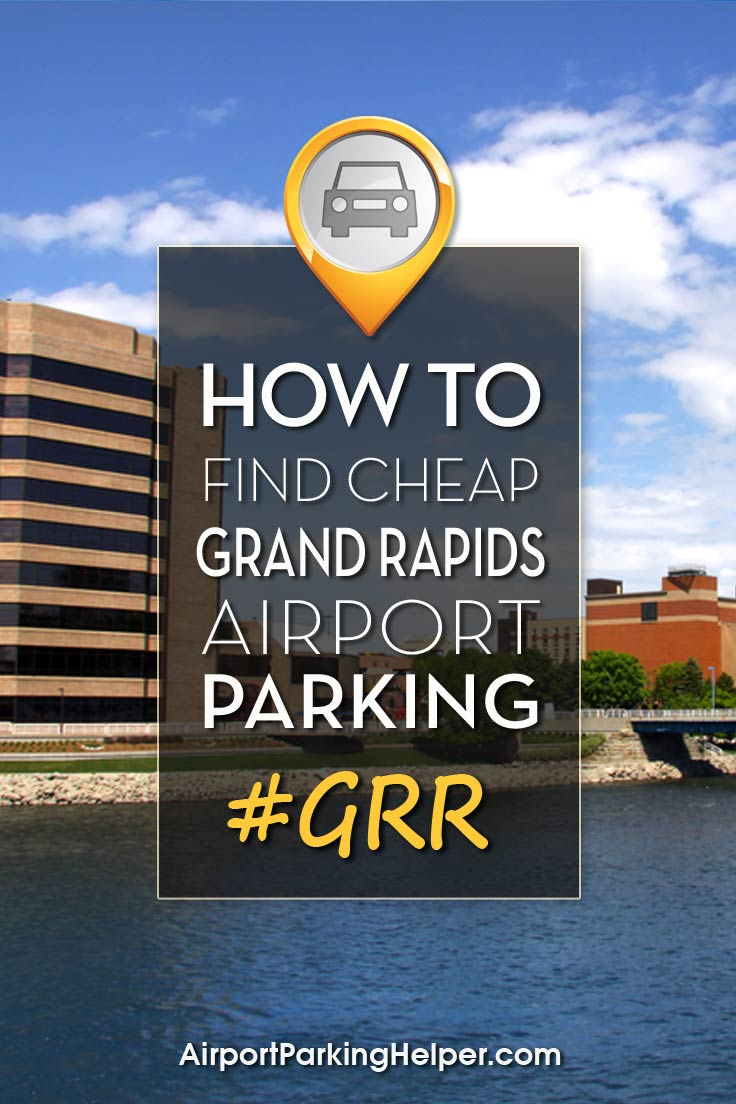 GRR Grand Rapids airport parking image