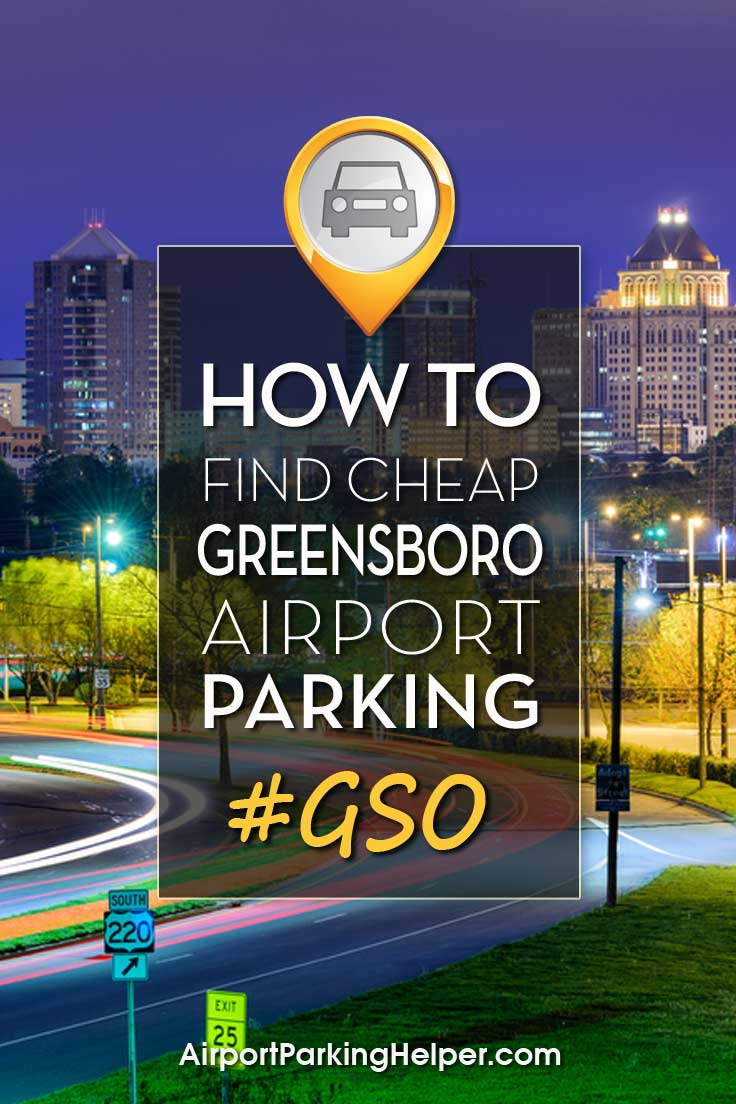 Greensboro GSO airport parking image