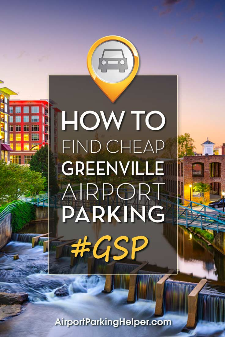 Greenville-Spartanburg GSP airport parking image
